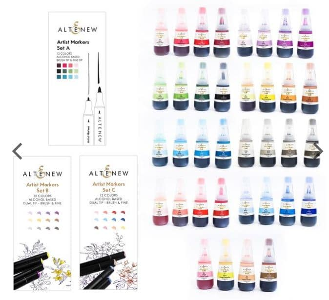 Altenew Artist Markes and Refills from StampinWithSandi.com