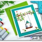 Simon Says Stamp Gnome on a Swing from Stampin with Sandi.com