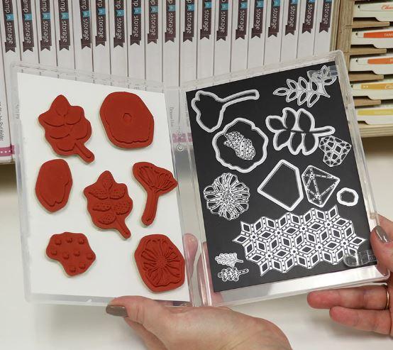 Stamp N Die Storage @ stampinWithSandi.com
