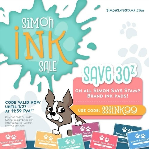 Simon Says Stamp ink sale