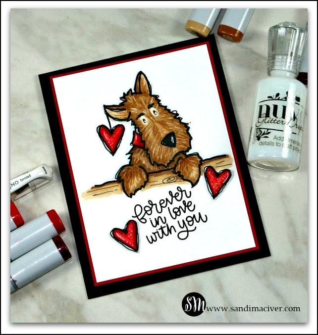 Darby Love Valentine Cards from SandiMacIver.com