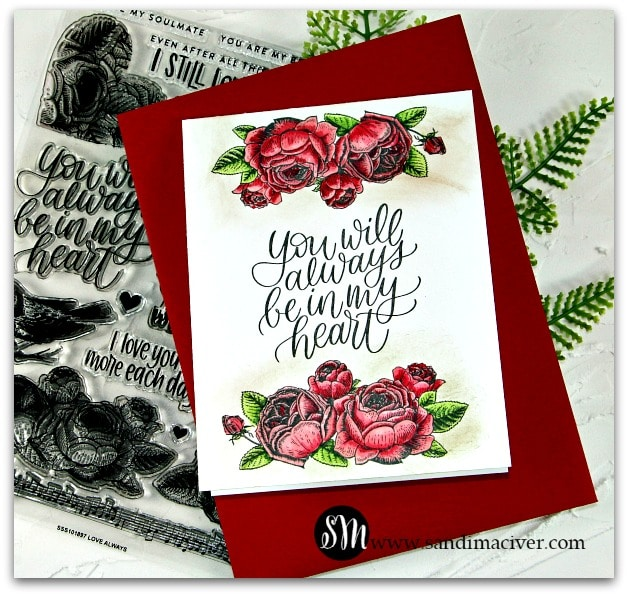 Love Always Card 5 from sandimaciver.com
