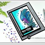 Creative Dies Designs - Feathers - New Video from SandiMaciver.com