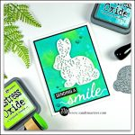 Filigree Bunny from Simon Says Stamps