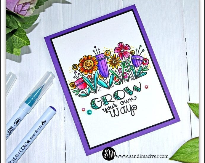 Grow your own way card from Sandimaciver.com