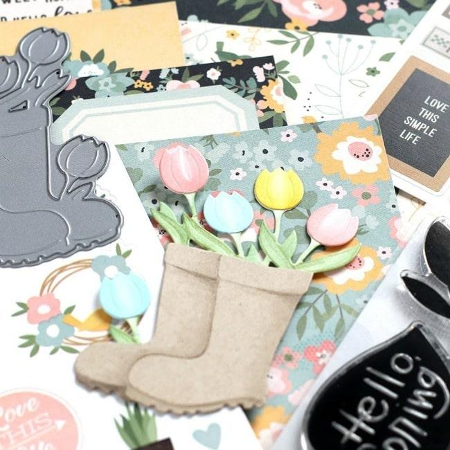 Simon Says Stamp - Hello Darling - April Card Kit