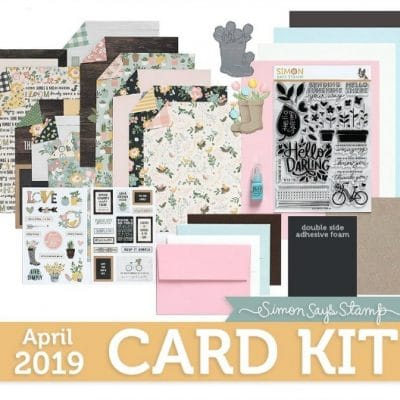 Simon Says Stamp - Hello Darling - April Card Kit