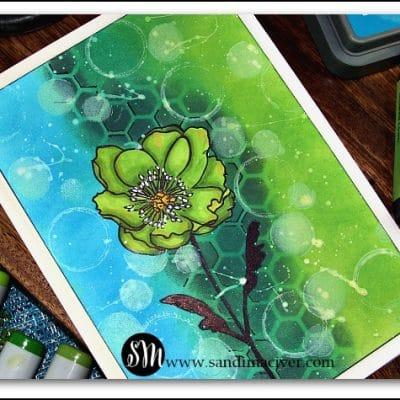 NEW VIDEO – Distress Oxide Ink Simple Backgrounds #4