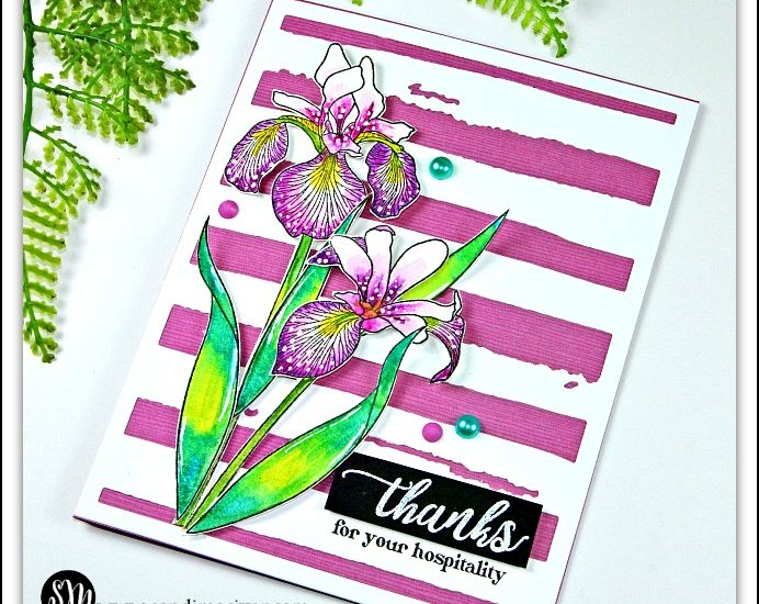 Altenew Enchanted Iris - Easy Watercolor Technique