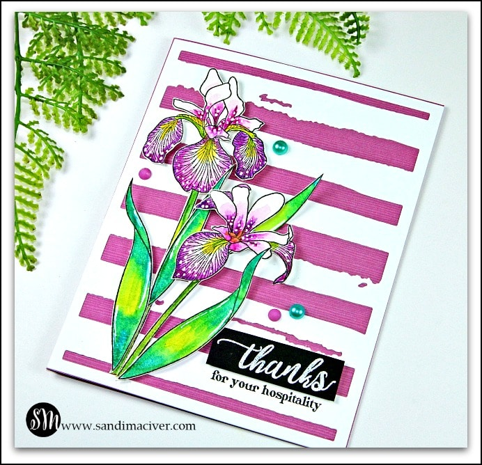 Altenew Enchanted Iris - Easy Watercolor Technique