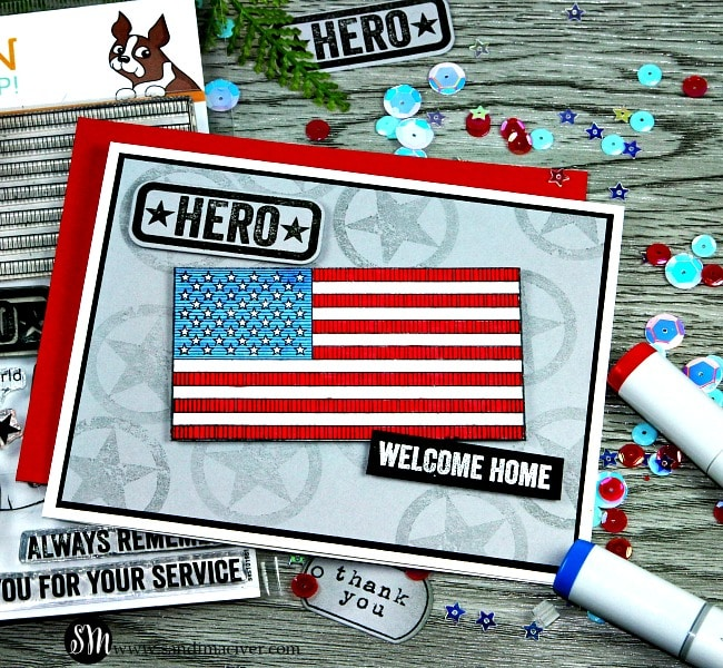 Patriotic service from Simon Says Stamp