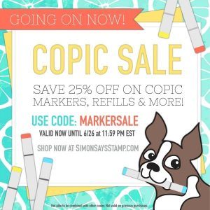 Simon Says Stamp Copic Summer Sale