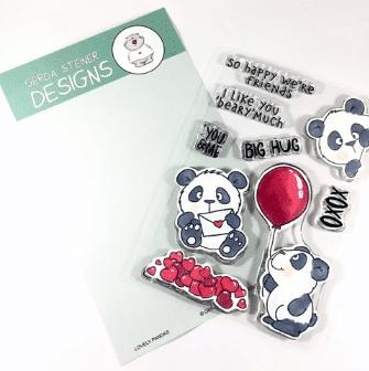 Gerda Steiner Designs Lovely Pandas