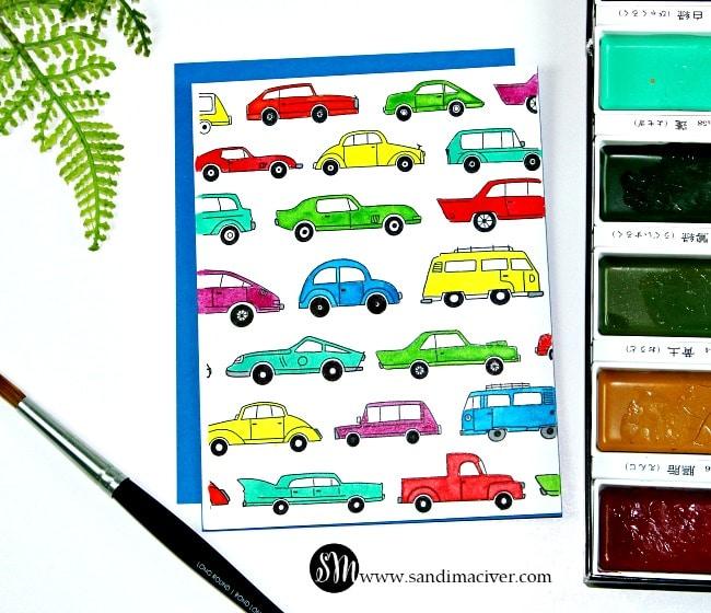 Simon Says Stamp Watercolor Prints cards