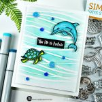 New Stamp Alert - Never Quit Swimming