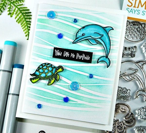New Stamp Alert - Never Quit Swimming