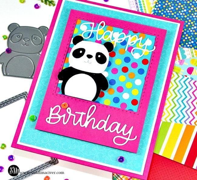 Simon Says Stamp Party Like a Panda
