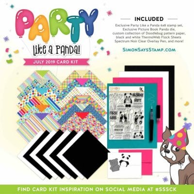 Party Like a Panda – August Card Kit