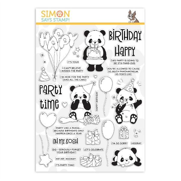 Party Like a Panda - August card kit