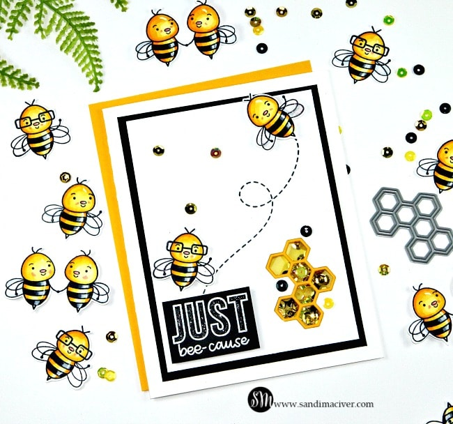 Simon Says Stamp Bee Yourself 4 cards from 1 Kit Video
