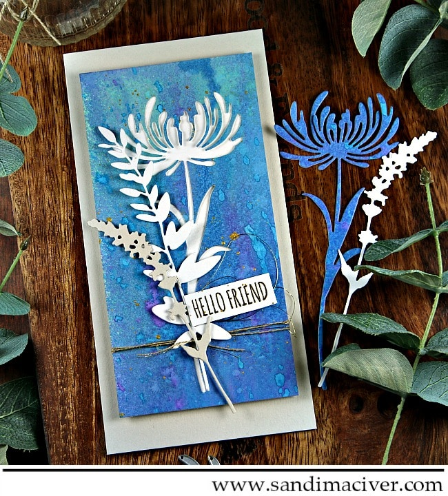 Wildflower Stems for Simon Says Stamp Wednesday Challenge