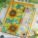 Simon Says Stamp More Cosmos Bloom Gold