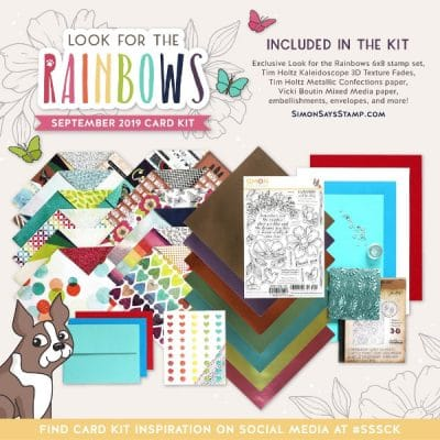 SSS – Look for the Rainbows monthly card kit
