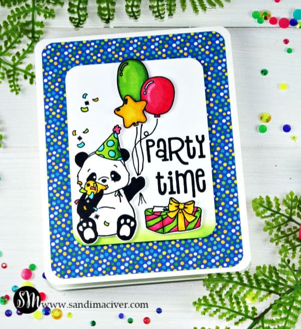 Its a Party Panda Birthday