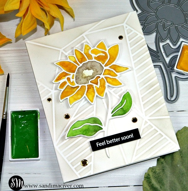 Simon Says Stamp Sunflower Stem