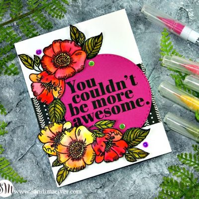 Simon Says Stamp SALE and Thankful Flowers in Pink and Yellow