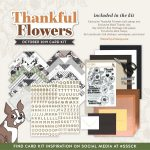 Simon Says Stamp Thankful Flowers October Card Kit