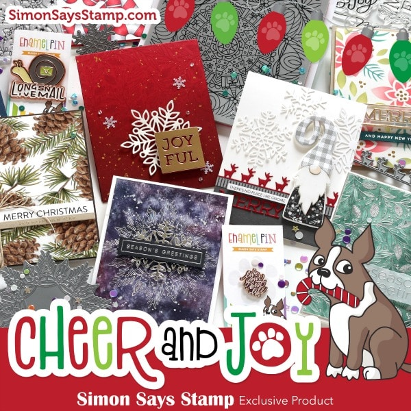 SImon Says Stamp - Cheer and Joy Release