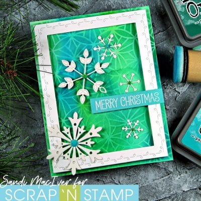 NEW VIDEO – Distress Oxide Christmas Cards