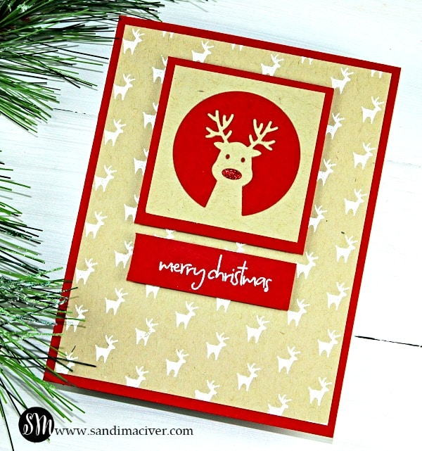 Ho Ho Deer from Simon Says Stamp