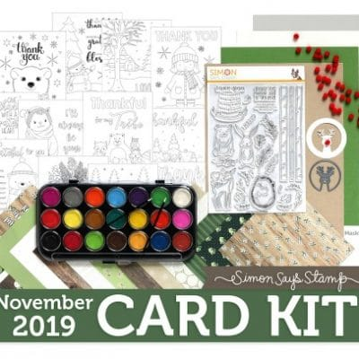 Simon Says Stamp November card kit