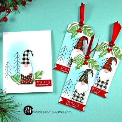 Christmas Gnomes and Tags