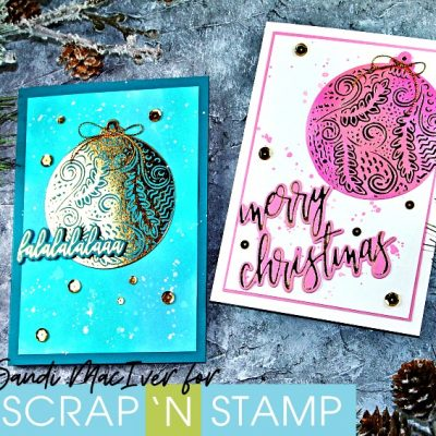 NEW VIDEO – Gemini Foil Press – Foiled Christmas Cards