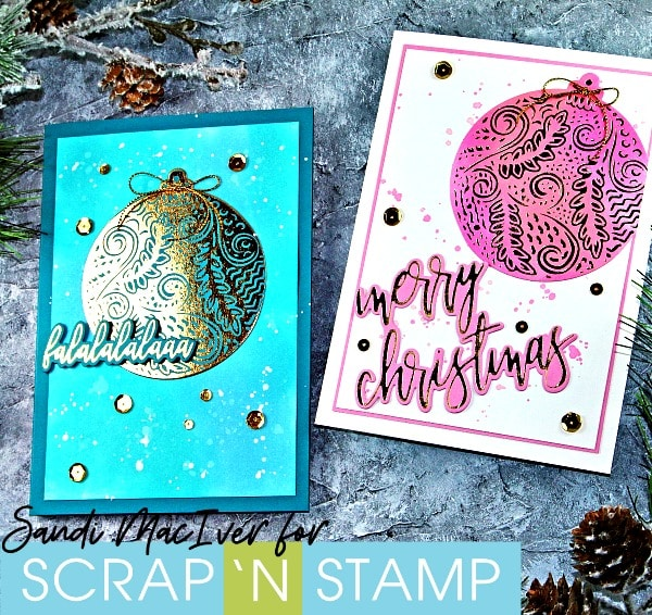 Gemini Foil Press - Foiled Christmas Cards