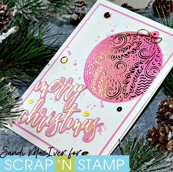 Gemini Foil Press - Foiled Christmas Cards