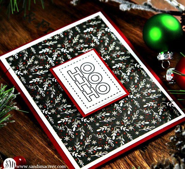 Gnome for the Holidays HoHoHo card