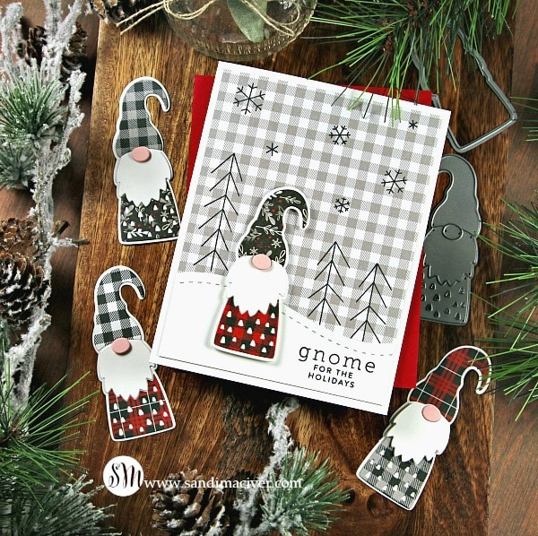Simon Says Stamp - Gnome for the Holidays