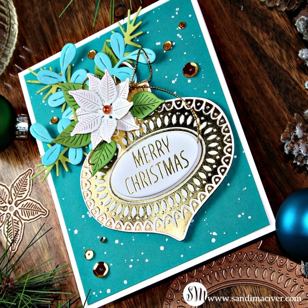 Spellbinders Glimmer Hot Foil Ornament