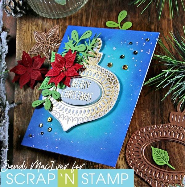 Spellbinders Ornament Glimmer Foil Plate