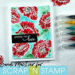 Poppy Bloom for Scrap 'N Stamp