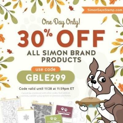 30% OFF SIMON SAYS STAMP BRAND PRODUCTS