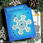 Diecember Shimmer Snowflake