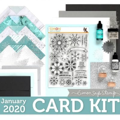 Simon Says Stamp January Card Kit
