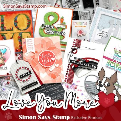 Simon Says Stamp Love You More Release