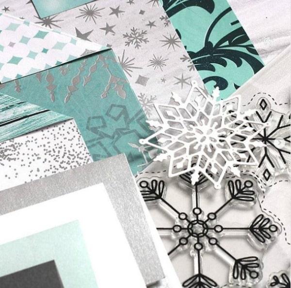 SSS Mini Snowflake Mandala Die