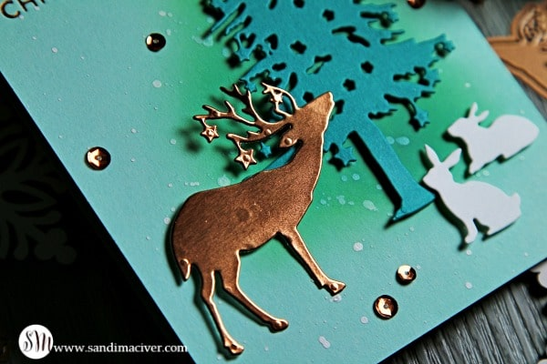 Spellbinders Starry Forest